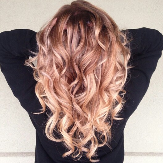 Long Blond Curly Hair Hairfashion Today